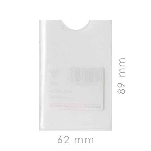 Puzdro PVC KOH-I-NOOR  62 x 89 mm