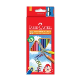 Pastelky Faber-Castell Grip Junior 20 farieb
