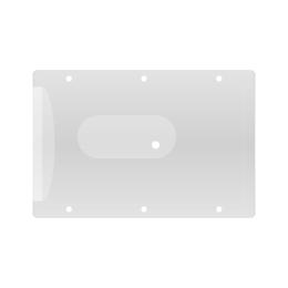 Obal na kreditnú kartu - transparentný