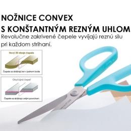 Nožnice PLUS SC-175S červené, 7