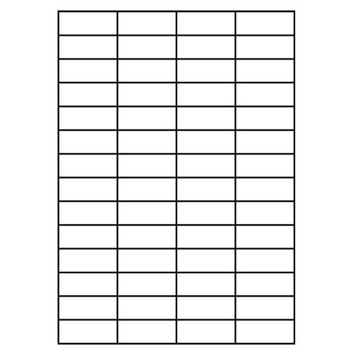 Etikety PRINT A4/100 ks, 52,5x21,3 - 56 etikiet, biele