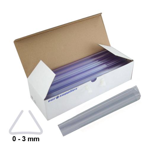 Násuvné lišty Relido 0-3 mm číre