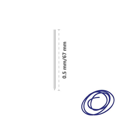 Náplň kovová R1004 (do 4-fareb. pera) 0,5 mm - modrá