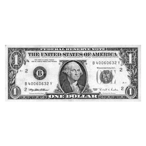 Čašnícka účtenka (dolárovka) 6x14 cm 100 listov (003)