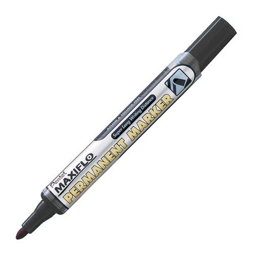 Pentel popisovač Permanent Maxiflo NLF50-A - čierny