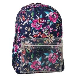 Školský batoh POP School, Pattern Flowers