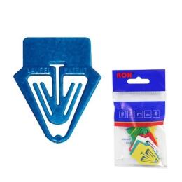 Listové spony plastové 661, popisovací, 25 mm (10ks)