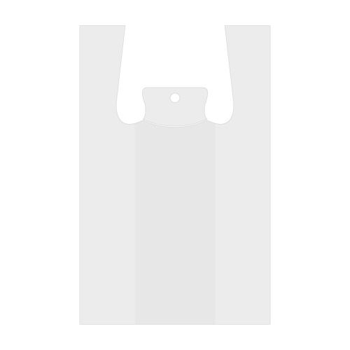 Taška LDPE igelitová košieľková 48 x 30 x 18 cm, bal. 100 ks / biele