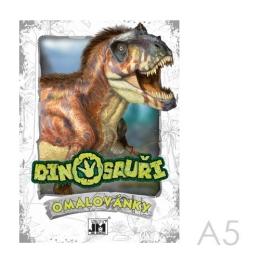 Omaľovánka JM A5 Dinosaury