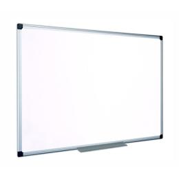 Smaltovaná, biela mag. tabuľa, 90x120cm