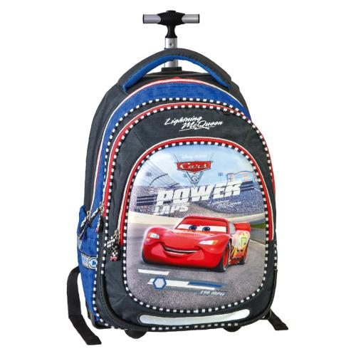 Školský batoh na kolieskach Smart Trolley Cars, Power Lap