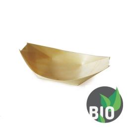 Fingerfood miska drevená, lodička 13 x 8 cm (100 ks v bal.)