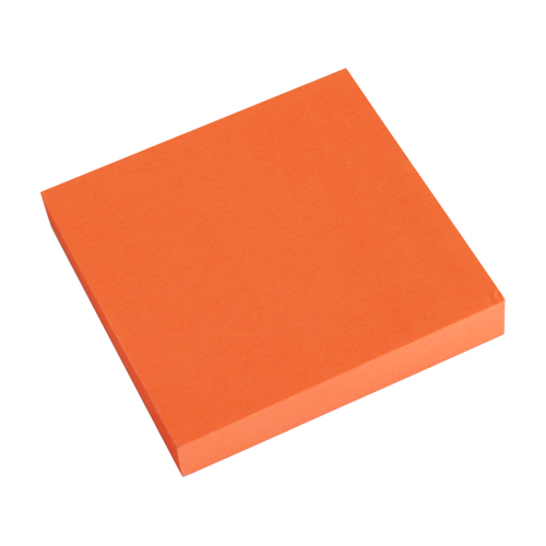 Blok lep. NEON 76 x 76 mm - oranžový