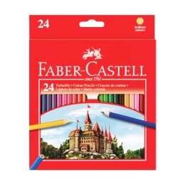 Pastelky Faber-Castell set 24 farieb