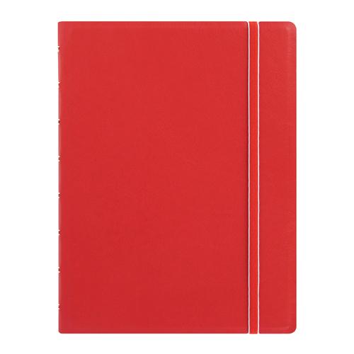 Poznámkový blok Filofax A5, červený