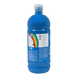 Farba temperová 1000ml modrá azúrová