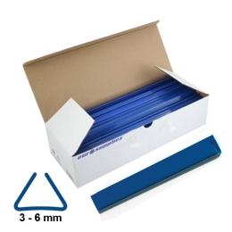Násuvné lišty Relido 3-6 mm modré