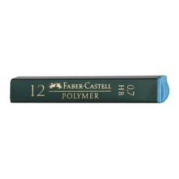 Grafitové tuhy FABER-CASTELL HB / 0,7 mm, 12 ks