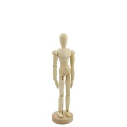 "SMPL manekyn - drevená figúrka - muž 8""/20 cm"