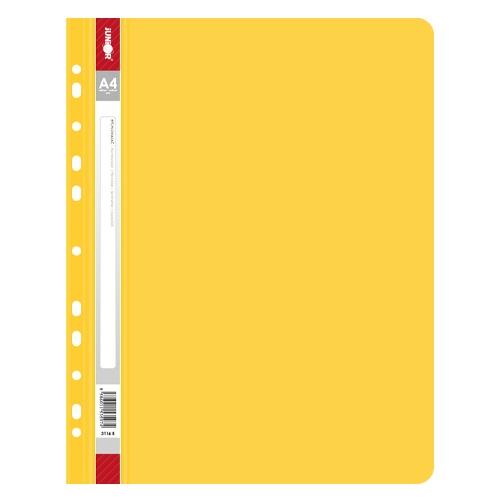 Rýchloviazač s europerforáciou PP/A4, žltý