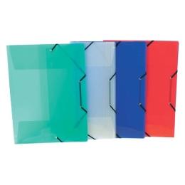 """Doska s gumičkou, 30 mm, PP, A3, VIQUEL """"Propyglass"""", mix farieb"""