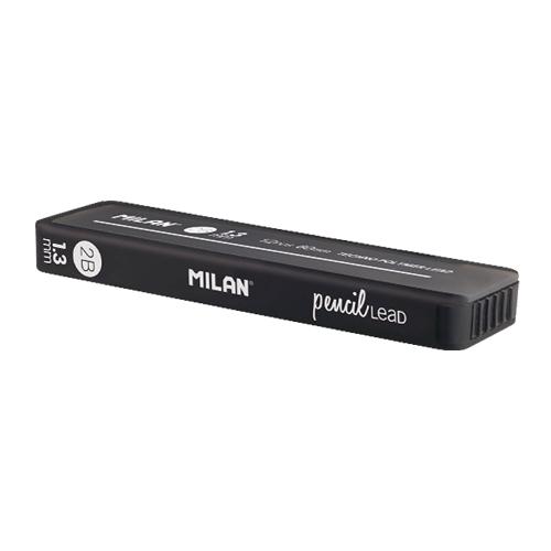 Grafitové tuhy MILAN 2B / 1,3 mm, 12 ks