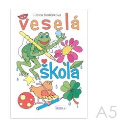 Omaľovánka A5 Litera - Veselá škola