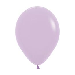 Balón Pastel 28 cm, svetlo fialový /100ks/