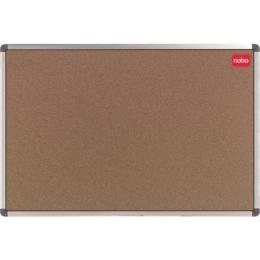 Korková tabuľa, 90x180 cm, hliníkový rám, NOBO