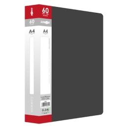 Katalógová kniha PP A4/60 listová, čierna