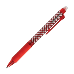 Roller gélový/gumovací M&G iErase V Clicker 0.7 mm, červený