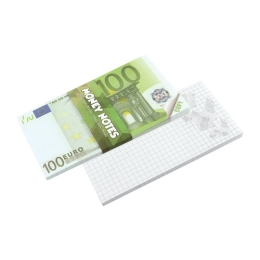 Blok trhací - Money Notes 100 €