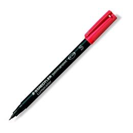 """Permanentný popisovač, OHP, 0,4 mm, STAEDTLER """"313 S"""", červený"""