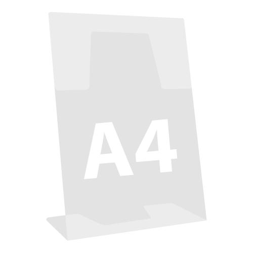 """Stojan na dokumenty """"L"""", naklonený, A4 210x297 mm"""