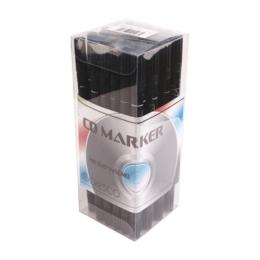 Popisovač CD MARKER obojstranný - čierny