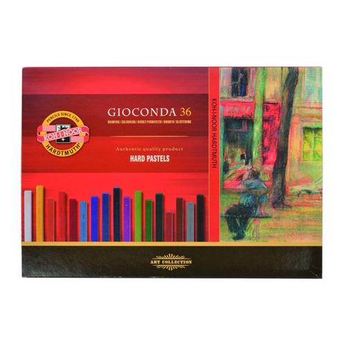 Krieda olejová KOH-I-NOOR GIOCONDA farebná, sada 36 ks
