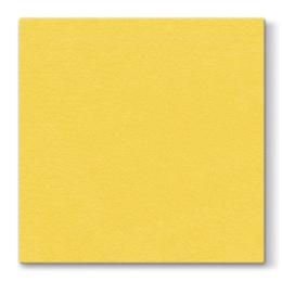 Obrúsky PAW AIRLAID L 40x40cm Unicolor Yellow