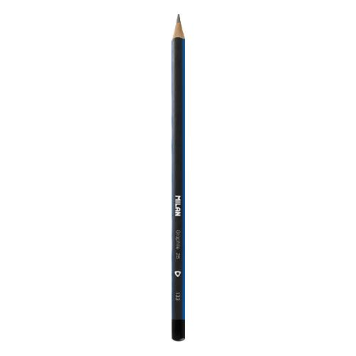 Ceruzka MILAN trojhranná 2B
