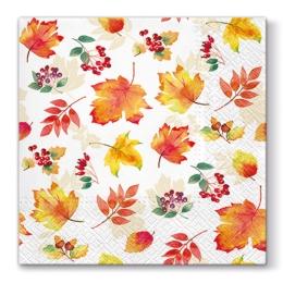 Obrúsky PAW L 33X33cm Falling Leaves