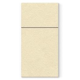 Vrecká na príbory PAW AIRLAID 40x40cm Unicolor Cream, 50 ks/bal