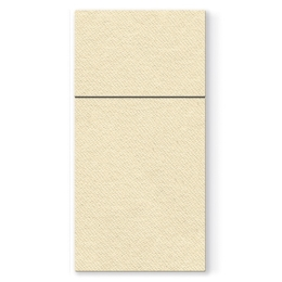 Vrecká na príbory PAW AIRLAID 40x40cm Unicolor Cream