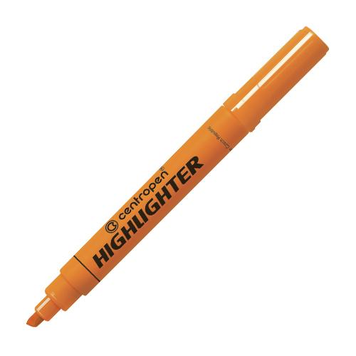 Zvýrazňovač CENTROPEN 8552 - oranžový