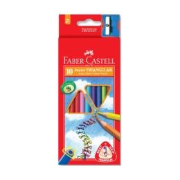 Pastelky Faber-Castell Grip Junior 10 farieb