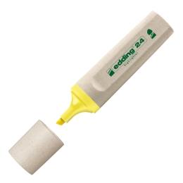 Zvýrazňovač Edding ecoline 24 žltý