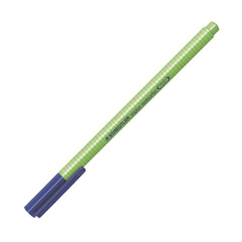 """Zvýrazňovač, 1-4 mm, STAEDTLER """"Triplus"""", zelený"""