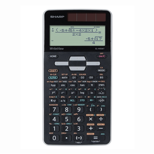 Kalkulačka vedecká 640 funkcií Sharp ELW506TGY