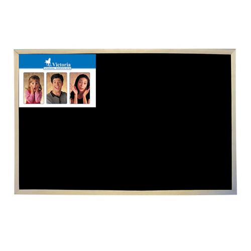 Tabuľa v drevenom ráme, čierna, na kriedu, 30 x 40 cm