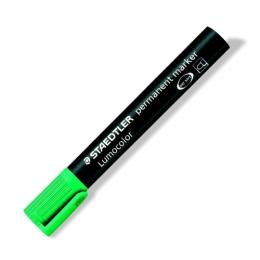 """Permanentný popisovač, 2 mm, kuželový hrot, STAEDTLER """"Lumocolor 352"""", zelený"""