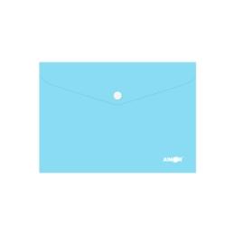 Obal s patentkou PP/A5 Pastel - modrý