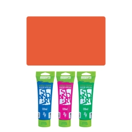 Akrylová farba JUNIOR 120 ml rumelka 324